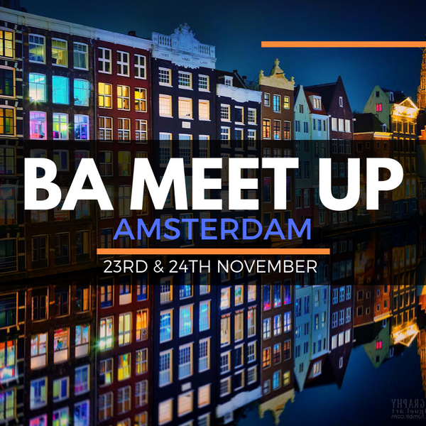 BA MEET UP AMSTERDAM